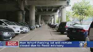 Mon Wharf Parking Lot Will Remain Closed Due To Flood Advisory [Video]