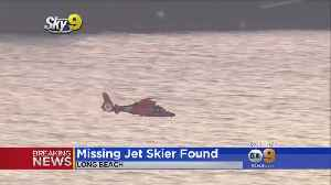 Coast Guard: Jet Skier Missing In The Water About 10 Hours Found Alive [Video]