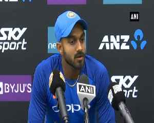 India vs New Zealand Learnt a lot from both the series, all rounder Vijay Shankar [Video]