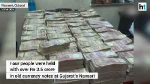 Gujarat Police seizes Rs 3.5 crore in old currency after 2 years of demonetization [Video]