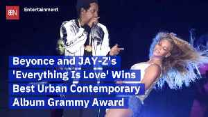 Beyonce And Jay Z Win A Grammy For 'Everything Is Love' [Video]