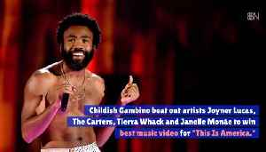 Grammys Best Music Vid Is Childish Gambino's