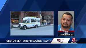 Uber driver to be arraigned today [Video]