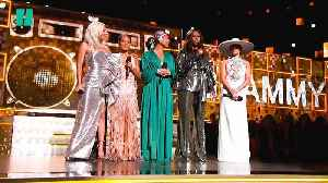 News video: Michelle Obama's Surprise Grammy Appearance
