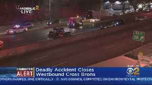 Deadly Crash Closes Cross Bronx Expressway [Video]