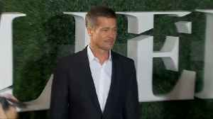 Brad Pitt seen at Jennifer Aniston's 50th birthday bash [Video]