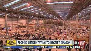 Florida leader trying to recruit Amazon [Video]