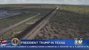 Border Wall Expected To Be Topic Of Trump's El Paso Rally