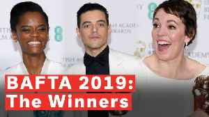 BAFTAs 2019 Highlights: 'The Favourite' Tops With 7 Wins [Video]