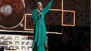 News video: Alicia Keys Was An Host At Grammys