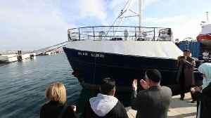 German rescue ship renamed in honor of drowned Syrian boy Alan Kurdi [Video]