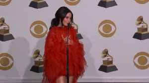 Kacey Musgraves Backstage At The Grammy Awards [Video]