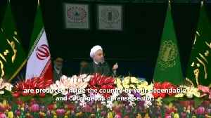 Rouhani: Iran to continue expanding military might, missile work [Video]