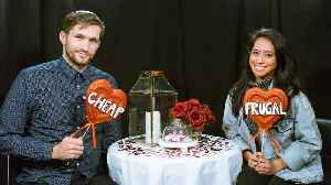 News video: Cheap vs Frugal — Would You Do This on Your Valentine's Day Date?