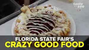 Florida State Fair's Crazy Good Food | Taste and See Tampa Bay [Video]