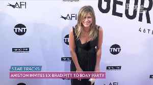 Jennifer Aniston is 'Very Happy' Brad Pitt Attended B-Day After She 'Debated' Inviting Him: Source [Video]