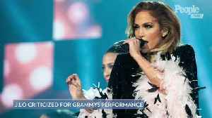 Jennifer Lopez Defends Grammys Motown Performance Amid Criticism - and Dedicates It to Her Mom [Video]