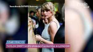 So Sweet! Taylor Swift Skips Grammy Awards, Attends BAFTAs Afterparty with Boyfriend Joe Alwyn [Video]