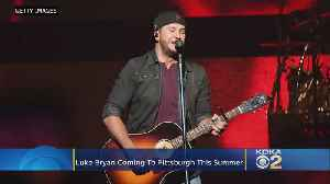 Luke Bryan Bringing Tour To KeyBank Pavilion [Video]
