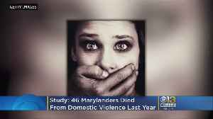 46 Marylanders Died From Domestic Violence Last Year [Video]