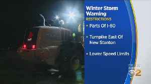 Winter Storm Warning Prompts Vehicle Restrictions From PennDOT, Pennsylvania Turnpike [Video]