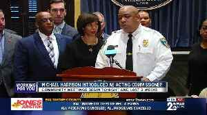 Building relationships, navigating consent decree priorities for Acting BPD Commissioner Harrison [Video]