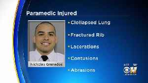 Injured Dallas Fire-Rescue Paramedic Doing Better After Weekend Crash [Video]