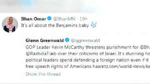 News video: Omar apologizes after accused of 'anti-Semitic tropes'