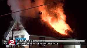 Little Falls Flint Ave Extension fire [Video]