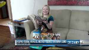 Girl Scouts donate cookies [Video]