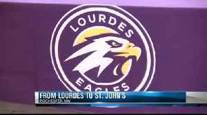 From sharing carries at Lourdes, to sharing the same college campus. [Video]