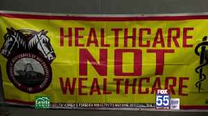 Local group pushes for universal health care [Video]