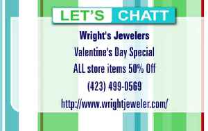 Wright Jewelers 50% Off Sale 'til Valentine's Day! [Video]