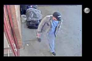 VIDEO: Surveillance of man sought in stabbing of RI woman [Video]