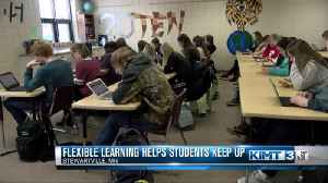 Flexible learning days help students keep up with their lessons [Video]
