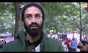 John Gapper visits occupy Wall Street protests - FT.com [Video]