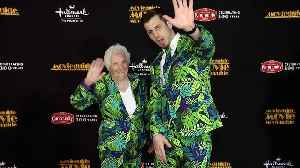 Ross Smith & Granny 2019 Movieguide Awards Red Carpet [Video]
