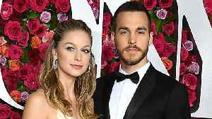 Melissa Benoist & Chris Wood Engaged [Video]
