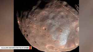 Martian Moon Phobos Contains Chunks Of Red Planet's Crust: Study [Video]