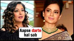 News video: Tanushree Dutta SUPPORTS Kangana Ranaut For Manikarnika Controversy