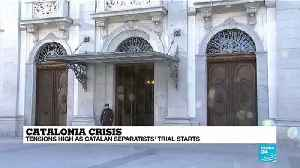 Twelve catalan separatists stand trial in Spain's Supreme Court [Video]