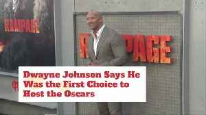 Dwayne Johnson Was First Choice To Host Oscars [Video]