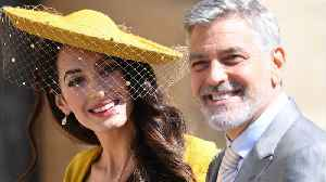 George Clooney Debunks Rumors He'll Royal Baby's 'Godfather' [Video]