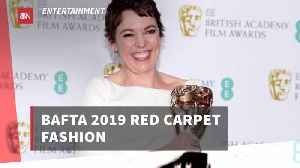 Check Out The BAFTA Red Carpet Fashions [Video]