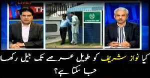 Can Nawaz Sharif be kept in jail for a long time? [Video]