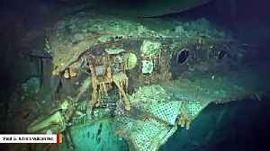 WWII Wreckage Of USS Hornet Found Resting On Floor Of South Pacific Ocean [Video]
