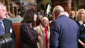 Charles and Camilla join Irish president for Liverpool visit [Video]