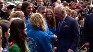 Prince Charles tours Albert Dock and Maritime Museum [Video]