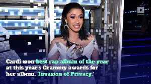 Cardi B Deactivates Instagram Account After Grammy Rant [Video]