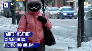Winter Weather Slams the US, Affecting 100 Million [Video]